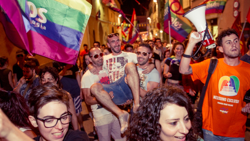 Perugia Pride Village: «Le lesbiche forse sono più accettate dei gay, essere trans non è un capriccio»